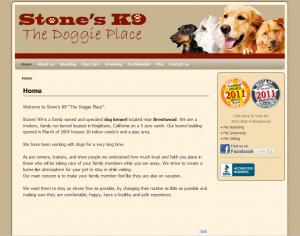 Stone's K9